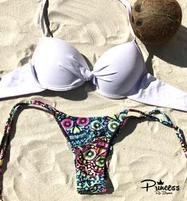 Bikini Calavera Blanca