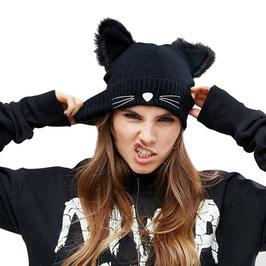 Mütze Black Cat