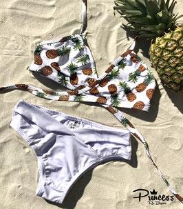 Bikini Ananas Wrap White
