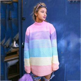 Pullover Rosa Rainbow