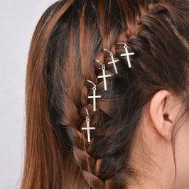 Haarschmuck Kreuz