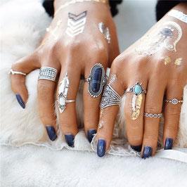 Ring Set Cristalino