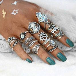 Ring Set Crystal Ocean