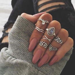 Ring Set Lotus