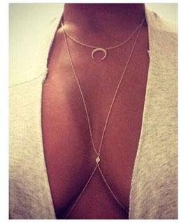 Bauch-Halskette Reina
