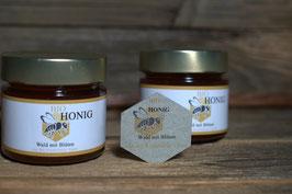 Bio Honig / Blüten mit Wald