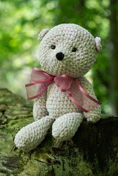 Teddy mit Glitzergarn