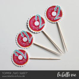 """12 Topper """"TWO SWEET"""""""