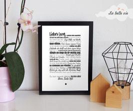 "Print ""Kinderzimmer"" 21 x 29,7 cm"