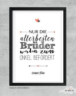 "Print ""allerbesten Brüder"""