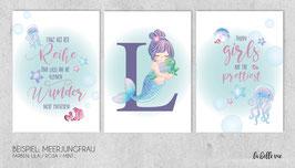 """Prints """"Meerjungfrau"""""""