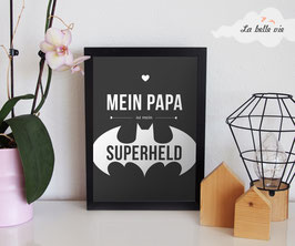"Print ""Superheld"" 21 x 29,7 cm"