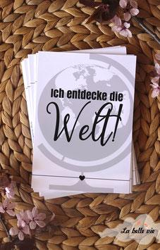 """30 Meilensteinkarten """"Junior"""" 10,5 x 14,8 cm"""