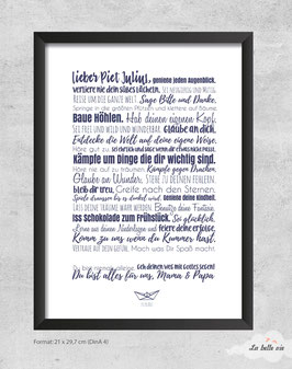 "Print ""Taufe"""