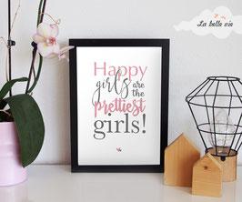 "Print ""girls"" 21 x 29,7 cm"