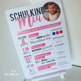 "Print ""Schulkind"" 29,7 x 42 cm"