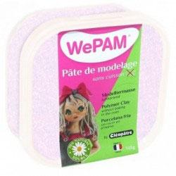 WePAM® Modelliermasse Kalt-Porzellan - 145 ml, Glitzer-Weiß
