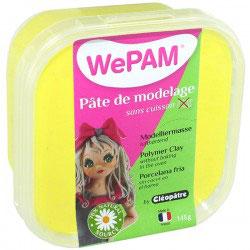 WePAM® Modelliermasse Kalt-Porzellan - 145 ml, Gelb