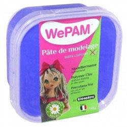WePAM® Modelliermasse Kalt-Porzellan - 145 ml, Blau
