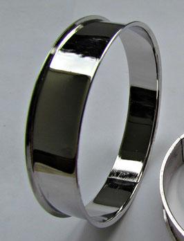 Metall Armreif Silberfarbe