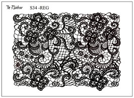 Flower Lace - The Rainbow Siebdruck REG .....