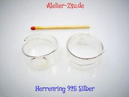 Fingerring für Männer - 925-er Silber - verstellbar - 1 Stück