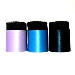 Kit mit 3 Köpfen (erhöht) mit Schwamm (3 verschiedene Farben)