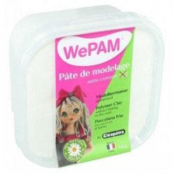 WePAM® Modelliermasse Kalt-Porzellan - 145 ml, Farblos