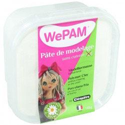 WePAM® Modelliermasse Kalt-Porzellan - 145 ml, Weiß