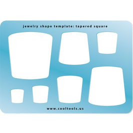 Tapered Square - Jewelry Shape Template