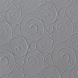 Rollbare Texturfliese - Curly Spirals Fineline