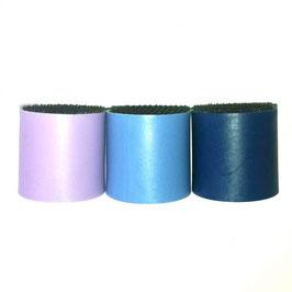 Kit mit 3 Köpfen (flach) mit Schwamm (3 verschiedene Farben)