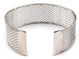 Armreif Netz-Rohling für Perlen