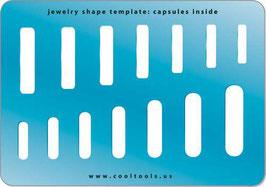 Kapseln - Jewelry Shape Template