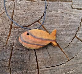 Holzfisch klein aus Essigbaum