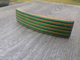 Nr.1 Holzhaarspange Birkenfunier gefärbt