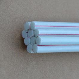 Glasfaser-Pflanzstab 7.5-1400 weiß (Bund)