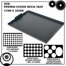 Armybox extra Tray - Tactical Size (MDF Frame only!)