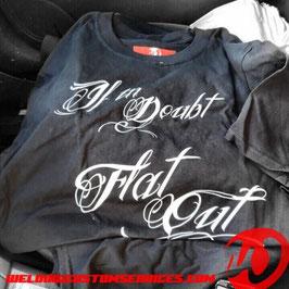 Tee Shirt Flat Out