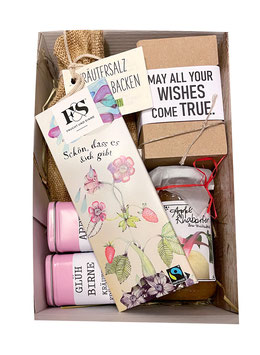 Geschenkkarton: Schön, dass es dich gibt