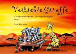"""Klavierschule """"Verliebte Giraffe"""" Heft 1, 84 Seiten inkl. CD - jetzt erhältlich!"""