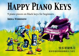 Happy Piano Keys (English, German, Chinese)