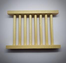Bambus Seifenablage hell