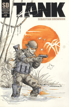 TANK #5 - Sketch Cover Edition (Heft, US-Format)