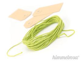 grünes Kordel - 10 m