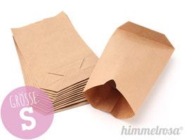 24 Papiertüten braun - Größe S