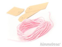 rosa farbenes Kordel - 10 m