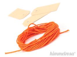 oranges Kordel - 10 m