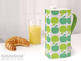 Kanne, Apfel in grün – breit