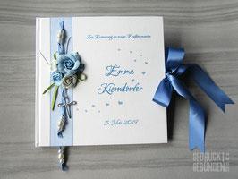 Gästebuch Erstkommunion Rosen Kreuz